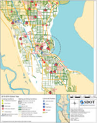Seattle Street Map by Seattle Releases Unique Walking And Biking Maps For Each Public