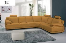 canapé d angle 6 places canapé d angle cuir canapé cuir marron 6 places 320x263x84