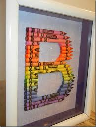 handmade crayon letter by coachswife83 on etsy teachers