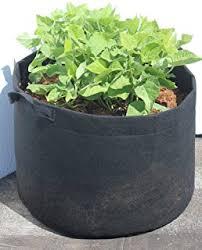 amazon com viagrow 5 gallon fabric aeration pot with handles and