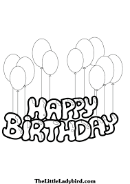birthday free coloring pages happy birthday cake coloring page