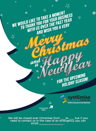 surprise your clients with paperless christmas greetings systemise