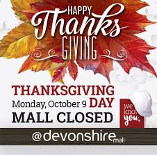 devonshire mall on wishing everyone their families a