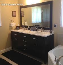 Espresso Bathroom Vanity Design Element London Double 72 Inch Modern Bathroom Vanity Set