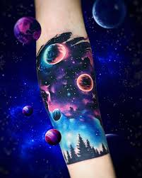 best 25 space tattoos ideas on pinterest planet tattoos cosmos