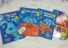 blue clue book lot ebay