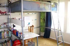 Bunk Bed Shelf Ikea Ikea Hack Turn A Loft Bed Into A Regular Bed Desk Bedroom Redo