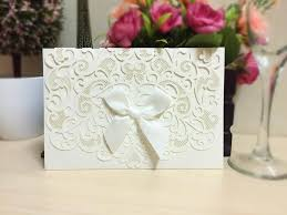 Reception Invitation Cards Simple And Cute 2015 New Wedding Invitations With Lace Hollow And