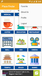 android finder place finder android app by viaviwebtech codecanyon