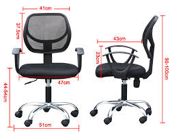 100 ergonomic chair with desk black pu leather high back