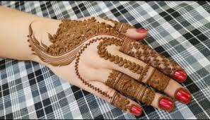 henna design on instagram holi special mehndi design for backside 2018 heena vahid site4news