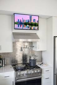 kitchen television ideas small tv for kitchen trendyexaminer