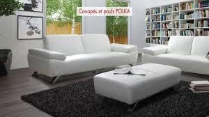 pouf marocain cuir canapés et pouf en simili ou microfibre polka youtube