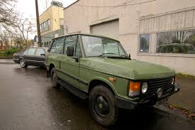 old range rover old parked cars 1974 land rover range rover classic tdi