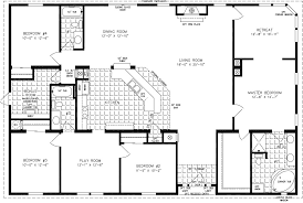 home floorplans 4 bedroom mobile home floor plans photos and