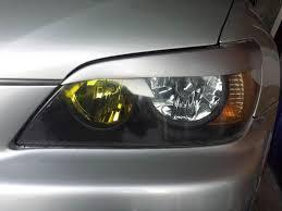 lexus lfa headlights diy painted headlights with a twist clublexus lexus forum