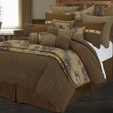 Earth Tone Comforter Sets Crestwood 4 5 Pc Rustic Comforter Bed Set