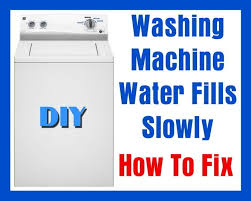 Bosch Dishwasher Water Inlet Filter Washing Machine Water Fills Slowly How To Fix Removeandreplace Com