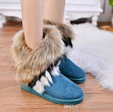 womens boots for 2017 2017 boots autumn and winter boots feathers fox fur