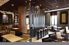 magnificent restaurant concept design ideas with cream purple