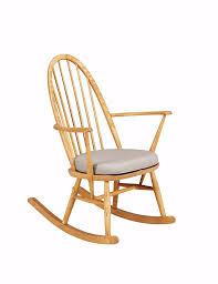 Oak Rocking Chair Uk Genuine Ercol For Marks U0026 Spencer Solid Oak Rocking Chair Rrp