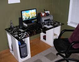 Personal Computer Desk Impressive Design Cool Computer Desks Home Design Ideas