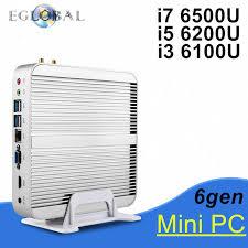 pc bureau intel i3 6gen mini pc windows 10 ordinateurs de bureau intel nuc i3