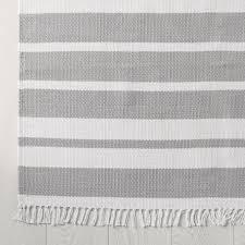 Grey Striped Rug Grey Stripe Grey Stripe Rug By The White Company U2013 Goodglance