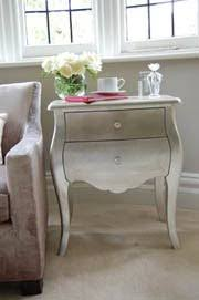 Silver Leaf Nightstand Silver Leaf Dressers Green Notebook