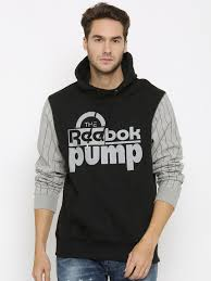 the reebok pump sweater top on the hunt