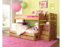 Staircase Bunk Beds Twin Over Full by Simply Bunk Beds Youth Saddlebrook Staircase Bunkbed Twin Over