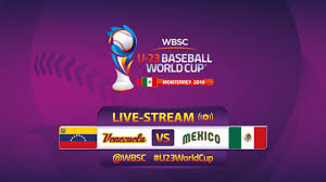 mexico v venezuela u 23 baseball world cup 2016 gm 12 youtube