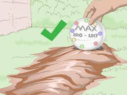 3 ways to make a pet grave marker wikihow