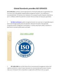 iso certification quality management system management