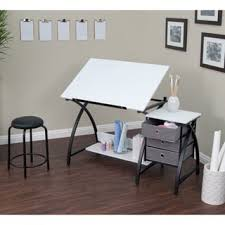 Drafting Table Set Martin Universal Design Ashley Creative White Drafting Table Set