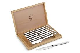 case kitchen knives zwilling j a henckels stainless steel steak knife set with