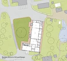 building site plan bedales art and design building work fcbstudios