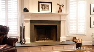 pearl granite custom fire place surround