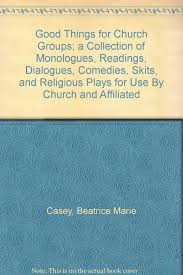 buy things for church groups a collection of monologues