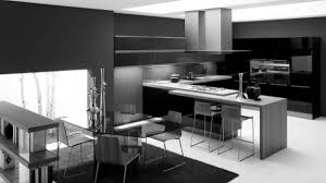 kitchen islands contemporary black and white kitchen design ideas