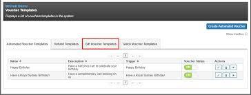 voucher creating a gift voucher template miclub help