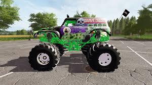 the original grave digger monster truck digger for farming simulator 2017