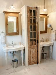 bathroom storage ideas with pedestal sink home decor ideas pedestal sink storage ideas idi design designer katie gagnon created a unique storage unit for the space between a pair of pedestal creative bathroom