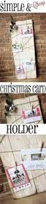 diy christmas card holder and display ideas christmas card