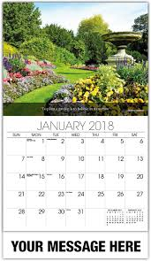 Flowers Gardens And Landscapes by Flowers And Gardens Promo Calendar 65 Business Promotional