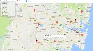 map all creating a store locator on maps store locator solution