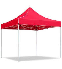 gazebo heavy duty portable heavy duty gazebo with side cover at rs 21999