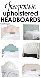 Cushioned Headboards For Beds by Inexpensive Upholstered Headboards