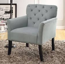 Gray Arm Chair Design Ideas Navy Blue Accent Chair On Home Interior Collections With