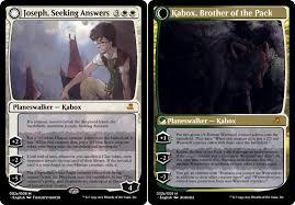 Seeking Card Joseph Seeking Answers Magic The Gathering By Joekabox On